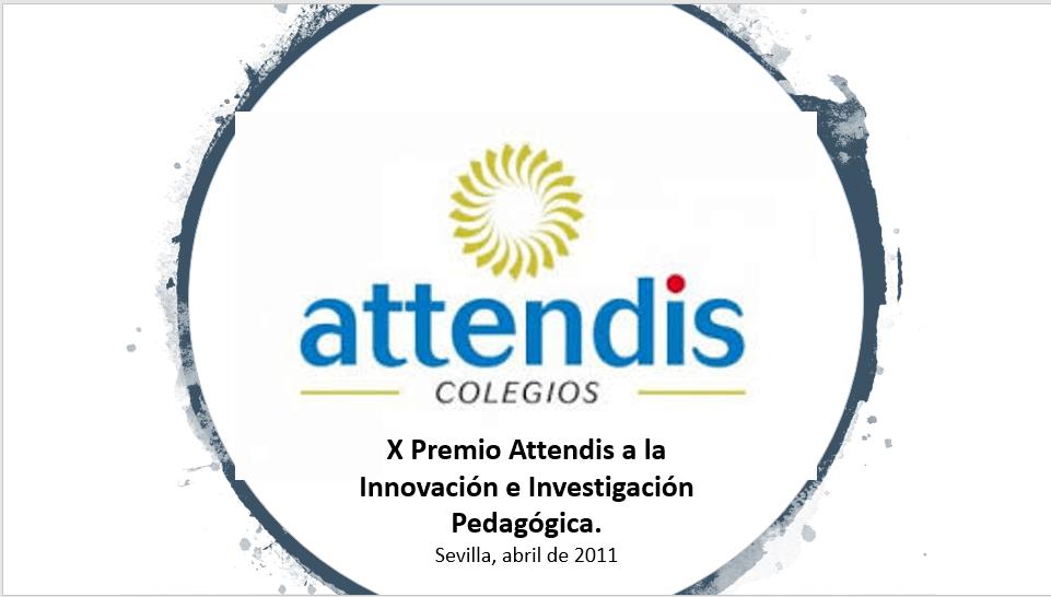 Premio ATTENDIS a lla Innovación e Investigación Pedagógica